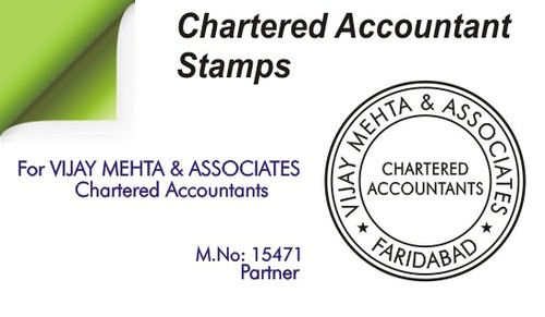 Chartered Accountant Stamps In Hyderabad Telangana