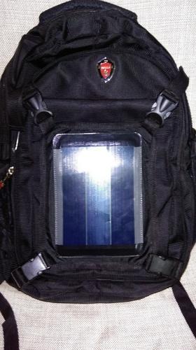 Solar School Bag with GPS Tracker - Starlight Green Technology, RTG