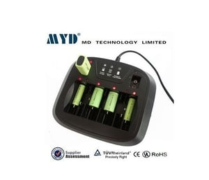 M3298 Aa, Aaa, C, D, 9V Nimh / Nicd Battery Charger