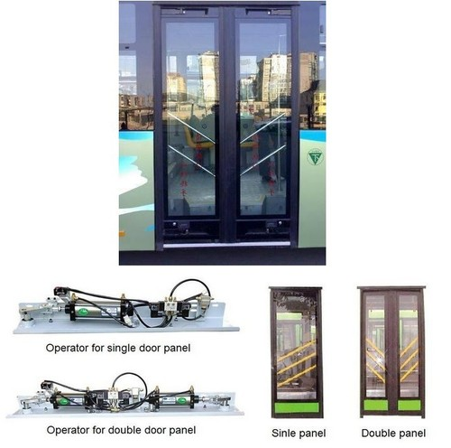 PIS100 Pneumatic Inswing Bus Door Mechanism