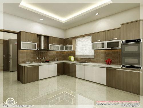 Multi Colour Modular Kitchen