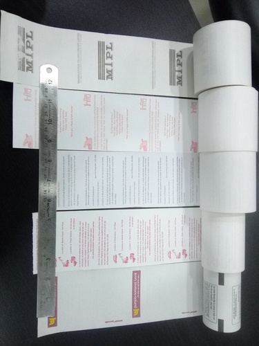 Exporter of Thermal Paper from Vadodara by ORIENTAL BUSINESS