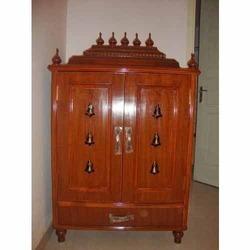 Wooden Pooja Unit