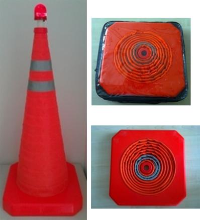 Flexible Traffic Cone