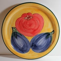 Clay Fruit Plate