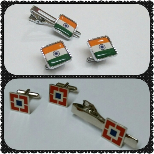Promotional Tie Pins And Cufflinks