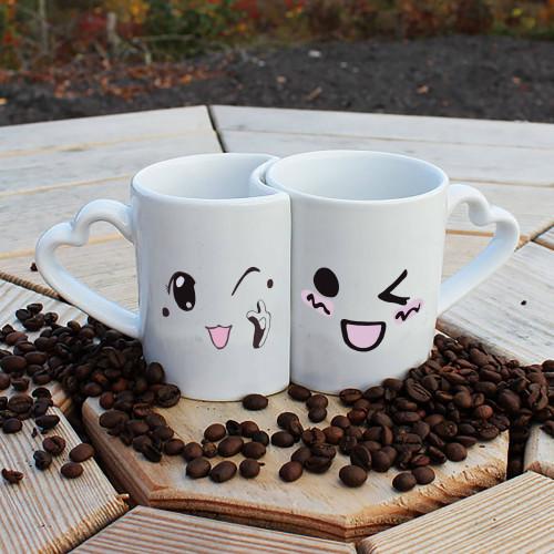Smile Couple Couple Mug