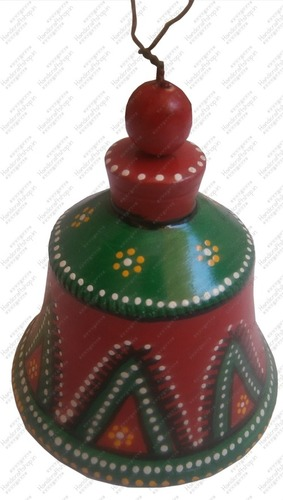 Terracotta Bell In Ahmedabad Gujarat India Handicraft Shop India