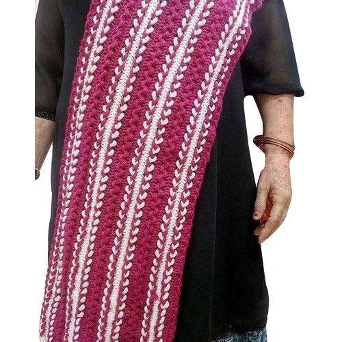 Ladies Crochet Shawl