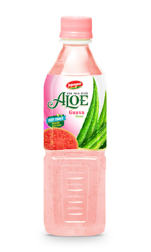 Fruit Juice Aloe Vera Drink With Guava Flavour