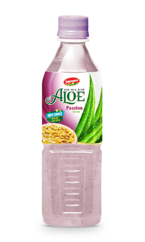 Fruit Juice Aloe Vera Drink With Passion Flavour