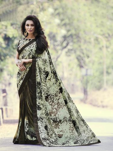 Fancy Printed Design Ladies Saree