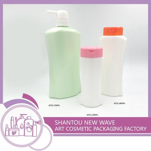 Plastic Hair Care Shampoo Packaging Bottles