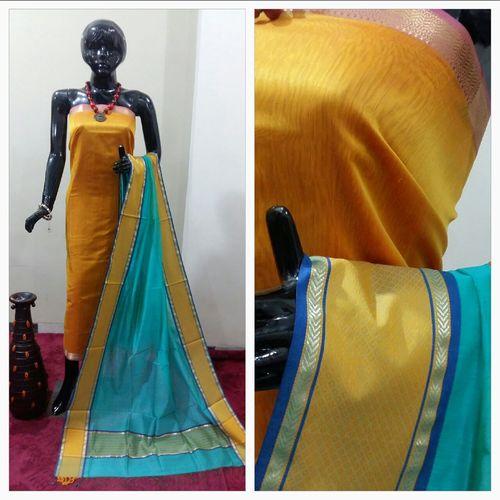 Maheshwari Handloom Designer Suit