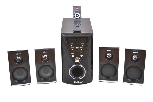 4.1 Multimedia Tower Speaker