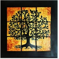 Tree of Life Mosaic Wall Art