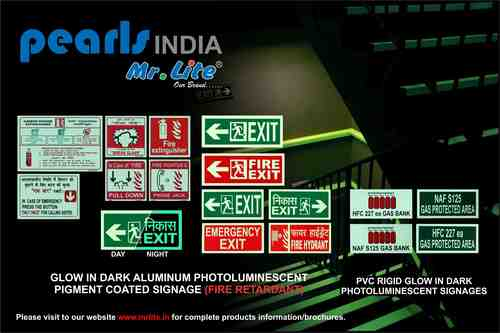 Glow In Dark Signages