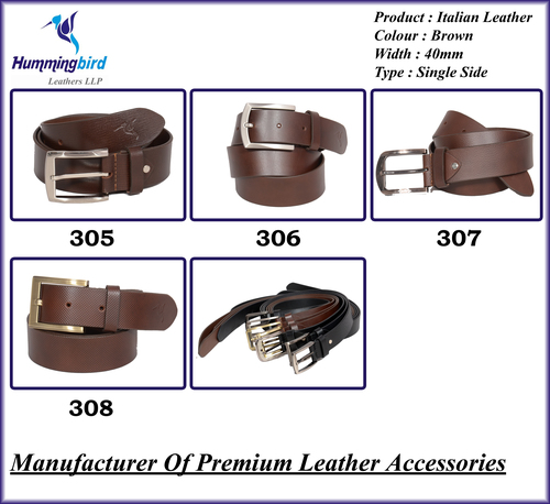 P17 Italian Leather Belt (Sirp Leather)
