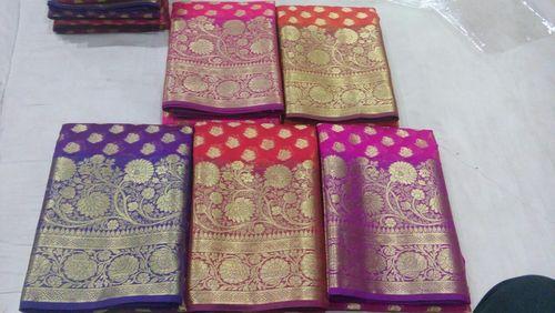 Cotton Monika Banarasi Sarees