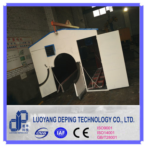 Welding Booth For Pipeline Construction