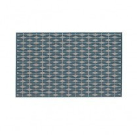 Aldo Blue Indoor And Outdoor Rug