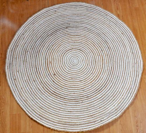 Round Jute Braided Rugs