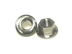 Titanium Hex Nuts With Flange