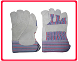 Patch Palm Leather Hand Gloves in  Kamothe