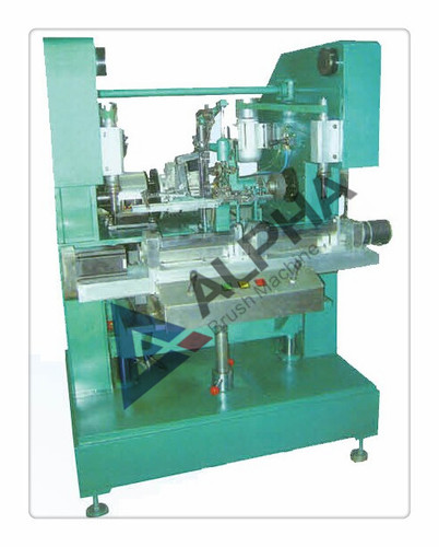 3-Axis 3-Head Brush Drilling And Tufting Machine