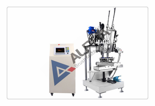 3-Axis 3-Head Comb Brush Drilling And Tufting Machine