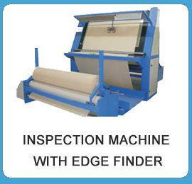 Fabric Inspection Machine Roll To Roll With Edge Finder