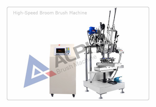 High Speed Broom Brush Tufting Machine in   Long Hua District