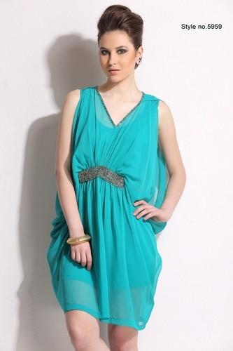 Ladies Fancy Sleeveless Partywear Dress in   Margao