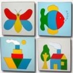 Tray Puzzles For Educations