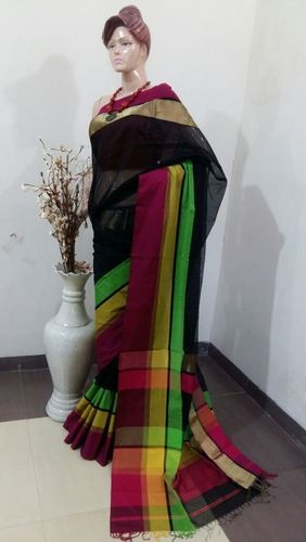 Designer Maheshwari Handloom Silk Cotton Sarees