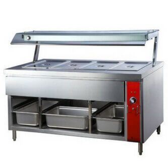 Hot Bain Marie Counter in  Vishwakarma Colony