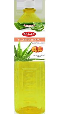 Okyalo 1.5L Peach Aloe Vera Juice