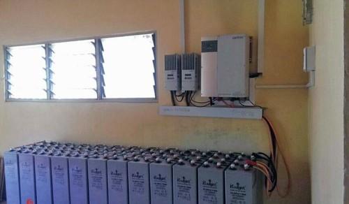 Solar Battery Bank