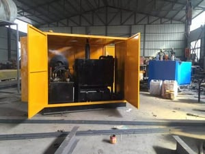 Industrial Condenser Tube Cleaning System