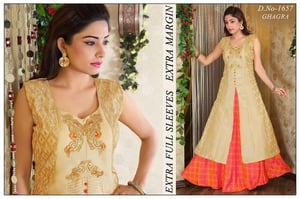 Embroidered Ghagra