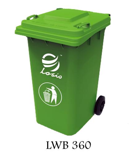 Losio Wheel Type Waste Bin 360l