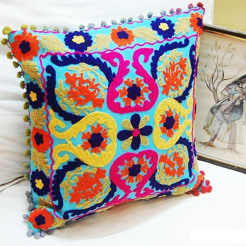 Suzani Multicolor Cushion Covers