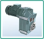 DX Shaft Mounted Helical Geared Motor