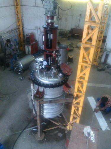 Stainless Steel Reactor Ngmp Cap 0.5 Kl