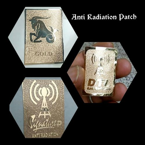 Anti Radiation Gold Patch in   Ind area