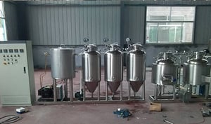 Industrial Home Brewing System
