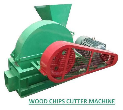 Wood Chips Cutter Machine in   Near Railway Bridge
