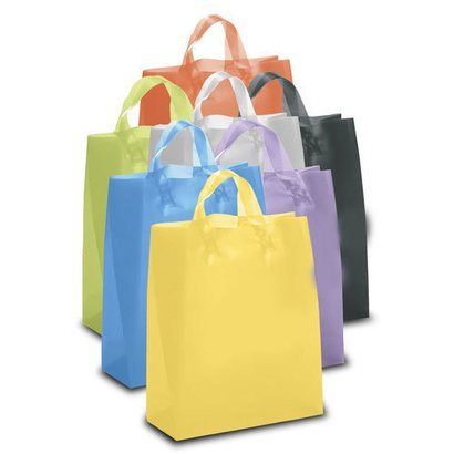 Color Plastic Shopping Bags
