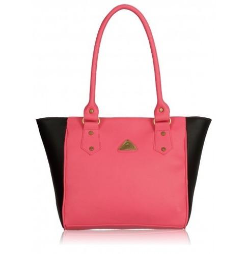 Connaught Pink And Black Handbag