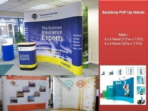 Backdrop Pop Up Stand